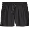 Patagonia M's Strider Pro 5in Shorts Tumalo Grid: Black